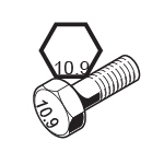 Metric Grade 10.9 Bolts